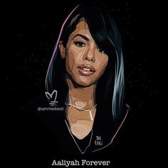 """Aaliyah Forever""  I wanted to say I truly appreciate the love and support I received yesterday. That was just crazy to me.  For the ones who have purchased from my site those orders will be processed tomorrow (there was a delay because of the holiday). As soon as they are done, I will email you with your updates. THANK YOU AGAIN. (I responding to messages tonight thank you for your patience)  #aaliyah #traevoli #blessed"