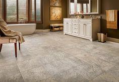 Armstrong luxury vinyl tile lvt blue gray stone look bathroom armstrong luxury vinyl tile lvt gray beige travertine look bathroom ideas ppazfo