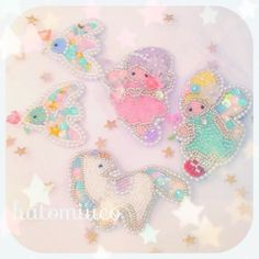 妖精の国!!の画像   鳩みう子のハンドメイドブログ*キラキラのビーズ刺繍【4コマ/変な恋人(…