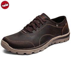 Skechers Superior Milford Herren Sneakers Braun (LTBR) 40 EU