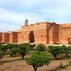 Marrakech Morocco El Badi Palace                              …