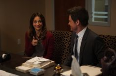 """According to a new report, Rob Lowe and Rashida Jones will exit """"Parks and Recreation"""" in Season 6 episode 13."""