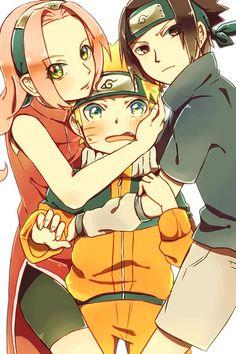 Tags: Anime, NARUTO, Haruno Sakura, Uzumaki Naruto, Uchiha Sasuke, Team 7, Jinchuuriki
