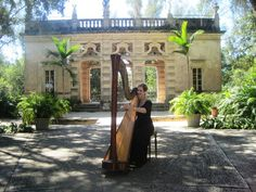 Music provided by The Elegant Harp for lovely wedding at Vizcaya Museum in Miami Florida  @theelegantharp @vizcaya #miamiwedding #vizcayawedding #luxurywedding #gardenwedding #musician #southfloridawedding #harp