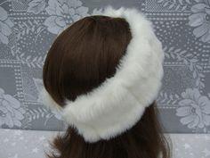 Women's Faux Fur HEADBAND, Fur Headwrap, Ear Warmer, Head Warmer, Black Mink Fur Headband - http://www.minkfur.net/womens-faux-fur-headband-fur-headwrap-ear-warmer-head-warmer-black-mink-fur-headband.html