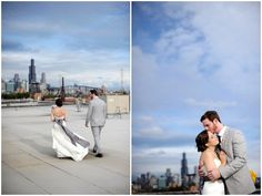 Urban Chic Wedding At Salvage One, Chicago by Two Birds Photography