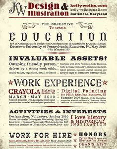 I love the look of this :-)  #resume #CV