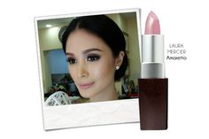 Heart Evangelista in Joey Samson's cage terno was one of the looks we loved during our SONA style spotting. But beauty-wise, she also knocked it out of the park with her mauvey pink lips.