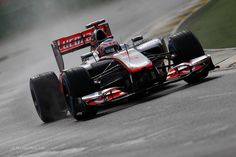 Jenson Button / McLaren, Australian GP (Practice)