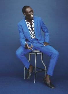 Blue. #Gentleman #follow www.pinterest.com/armaann1  | Men's fashion | Style |
