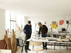 Ronan and Erwan Bouroullec's Paris Studio | Yellowtrace