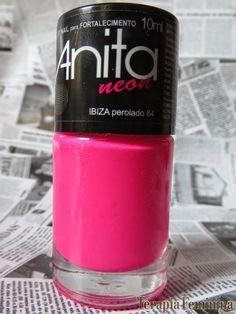 Terapia Feminina: Esmalte da Vez: Ibiza Anita Neon.
