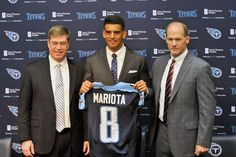The Tennessee Titans grabbed potential starters at quarterback, wide receiver and offensive line with their first three picks in the 2015 NFL Draft. Music City Miracle, Santana Moss, Depth Chart, Sport Park, Jim Brown, Usa Today Sports, Wide Receiver, Tennessee Titans, Oregon Ducks