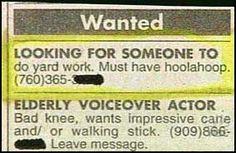 Sounds like a fun job!