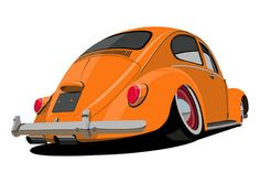 Cool Car Drawings, Vw Mk1, Cars Characters, Car Vector, Automobile, Truck Art, Car Illustration, Automotive Art, Car Humor