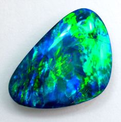 Green and blue opal. This website is fantastic, and has all kinds of interesting opal facts!