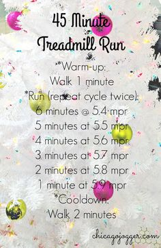 45 Minute Treadmill Run + New Fitbit - a great workout to ease your way into treadmill running | chicagojogger.com