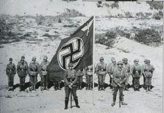 German paratroopers. Crete