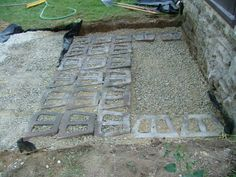 We Show The Way We Construct Steps Using Wall Stones With Photos & Descriptions - Newtown Square PA from Robert J. Front Porch Steps, House Front Porch, Front Porches, Concrete Porch, Concrete Steps, Patio Stairs, Front Stairs, Brick Steps, Stone Steps