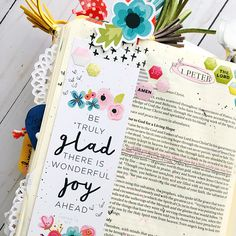 bible journaling entry by Bailey Jean Robert | Worth the Wait | Choosing Joy | 1 Peter 1:6