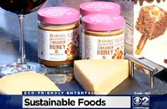 Check us out this sustainable foods segment from CBS Chicago http://htl.li/w4Vuy #EcoFriendly #SaveTheBees #News #TV #Honey #MadhavaBuzz