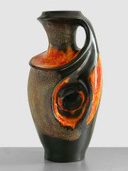 Walter Gerhards (Fat Lava Wadersloh) Tags: walter west vintage lava fat retro german pottery kera keramik wgp gerhards