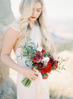Bridal portrait: http://www.stylemepretty.com/california-weddings/santa-barbara/2015/03/26/romantic-santa-barbara-bridal-shoot/ | Photography: The Great Romance - http://thegreatromancephoto.com/