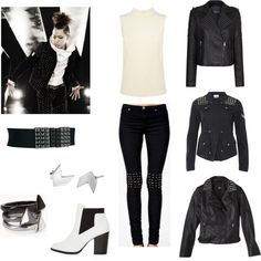 """Outfit inspired by Block B, Zico in """"Freeze"""""""