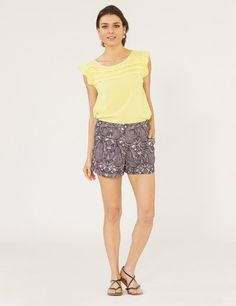 Gentle Fawn Black Print Etoile Short Now 25% off use promo code BOTTOMSUP at www.TwoSmitten.com