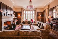 The Westbury, Dublin. The best five star Ireland hotels Houses In Ireland, Ireland Hotels, Pink Dining Rooms, Red Rooms, Gate House, Billiard Room, Five Star Hotel, Close To Home, Pink Room