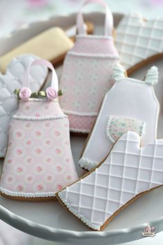 Gorgeous baking-themed cookies by Marian of Sweetopia.