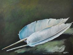 """Entitled """"Two Quills"""" -- can be seen at www.artofkason.com Quilling, Artsy, Bird, Artwork, Photos, Animals, Bedspreads, Animales, Work Of Art"""