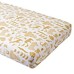 View larger image of Menagerie Crib Fitted Sheet