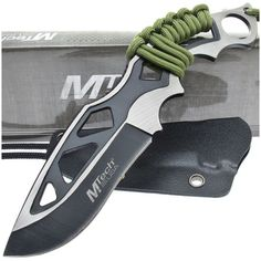 MTech MT-20-20C Two-Tone Fixed Blade Knife w/ Cord Wrapped Handle   MooseCreekGear.com   Outdoor Gear — Worldwide Delivery!   Pocket Knives - Fixed Blade Knives - Folding Knives - Survival Gear - Tactical Gear #tacticalknife #survivalgear
