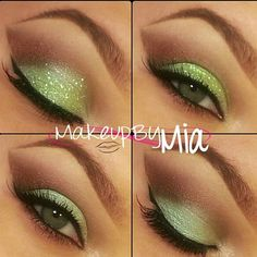 Gorgeous look using Mad Mellon by @makeupbymia - @eyekandycosmetics- #webstagram