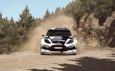 Dirt Rally - Ford Fiesta RS Rally - Argolis Greece - Ourea Spevsi