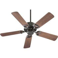 Quorum Lighting 143425-95 Estate Patio - 42 Inch Ceiling Fan