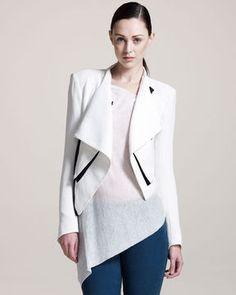 Helmut Lang Sugar Cropped Jacket on shopstyle.com
