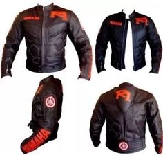 negro chaqueta de cuero moto yamaha r1 - Categoria: Avisos Clasificados Gratis  Estado del Producto: New with tagsTop Grain Milled Cowhide 12mm Thick Leather5Piece Internal CE Protection at Back, Elbows, ShouldersInner Fixed Mesh LiningAdjustable Valcro Strap at BottomSpeed Hump 25 EXTRAProcessing time required to make the jacket according to the given size is 4 to 5 working daysValor: USD165,00Ver Producto