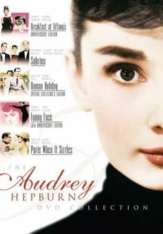 Audrey Hepburn Collection. I need these.