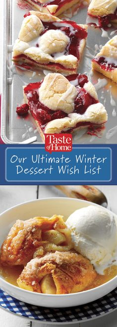 Our Ultimate Winter Dessert Wish List
