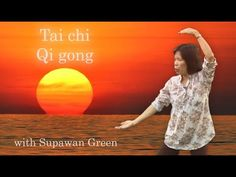 Tai Chi Qi Gong 18 movements With Supawan Green 2014. 37 mins. (With Audio Guide for Mindfulness & Breathing)