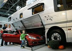 Sell Your House, Move into a Larger Bus. This is awesome but where does your kid sit when you go out in the Benz? Well is more likely to be for when your kids are out of the house anyway.