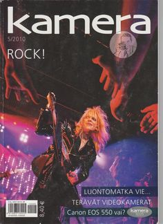 Camera Magazine 5/2010 Michael Monroe / Hanoi Rocks Department Other Magazines
