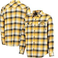 Missouri Tigers Columbia Collegiate Flare Gun Flannel Long Sleeve Button-Up Shirt - Black