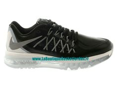 Nike Air Max 2015 Chaussures de Running Pour Homme NoirGris