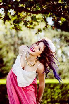 Tini *-* elle est magnifique , j'adore les photos où elle a cette coupe , son sourire est unique <3