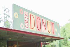 Carpe Donut … hahaha.  Cute!  #cocktailfood #originalweddingcocktail