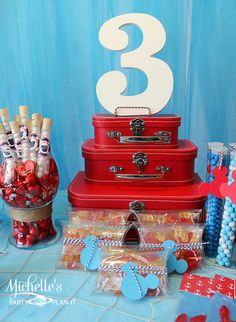 Nautical Mickey Mouse Party #nautical #mickeymouse