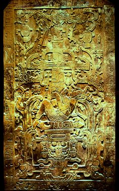 Palenque -- Mexican Mayan ruins on the western edgoe of the Mayan empire